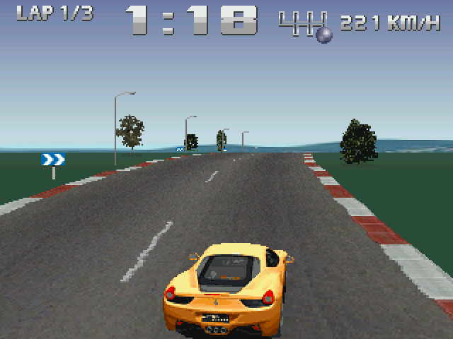 Racer 2 [Falcon030] atari screenshot